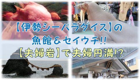 【伊勢シーパラダイス】の魚館&セイウチ!!【夫婦岩】で夫婦円満!?