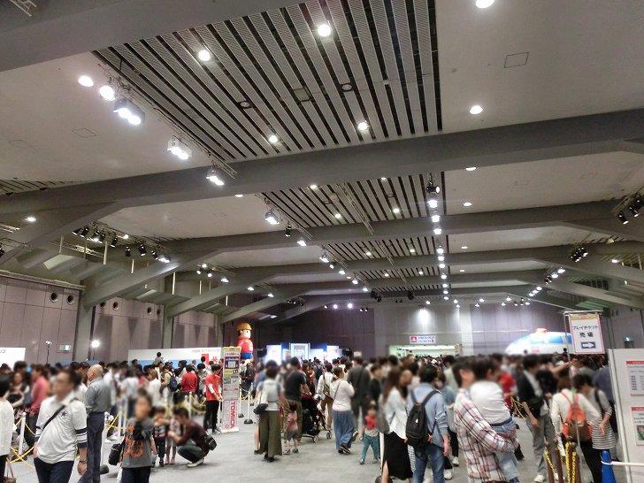 トミカ博in大阪2017のプレイチケットとアトラクションゾーン