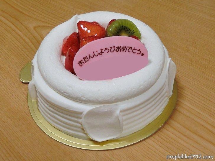 フラワー・誕生日ケーキ