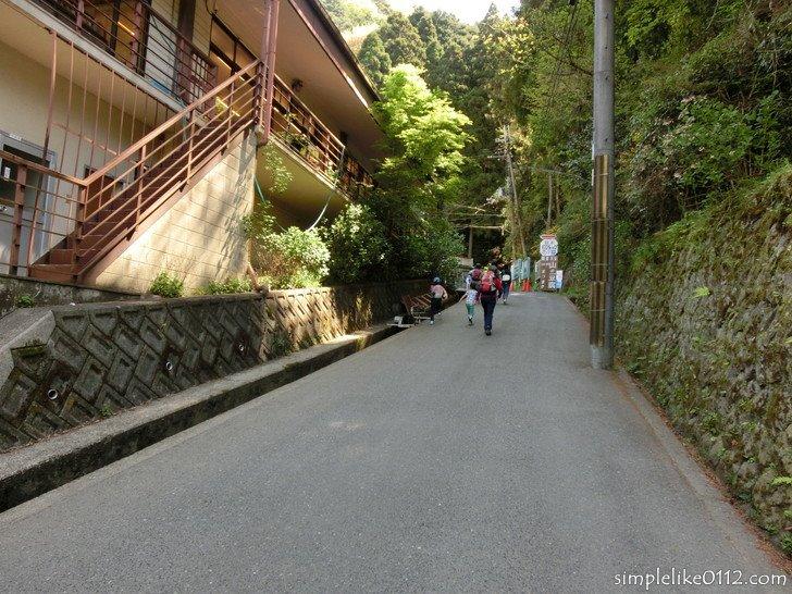 金剛山千早本道コース登り口
