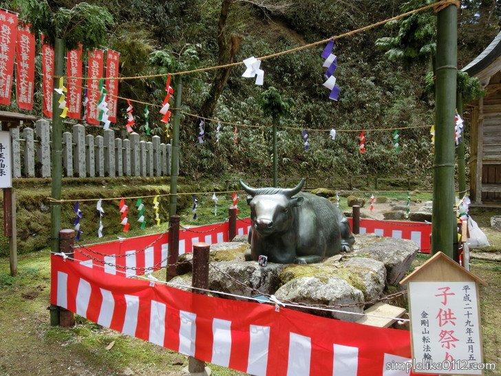 金剛山転法輪寺子供祭り