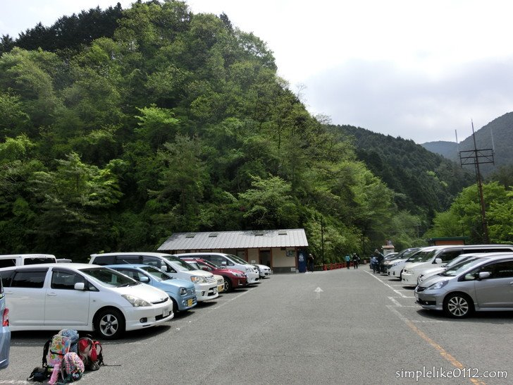 大阪府立金剛登山道駐車場