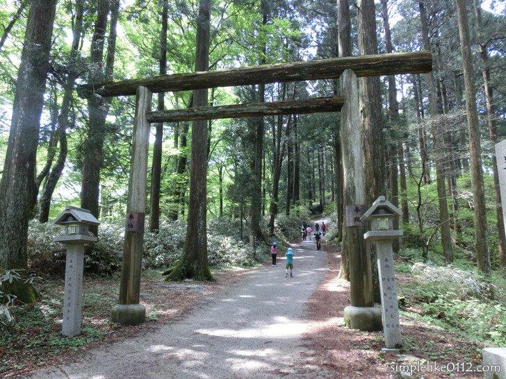 金剛山葛木神社の一ノ鳥居