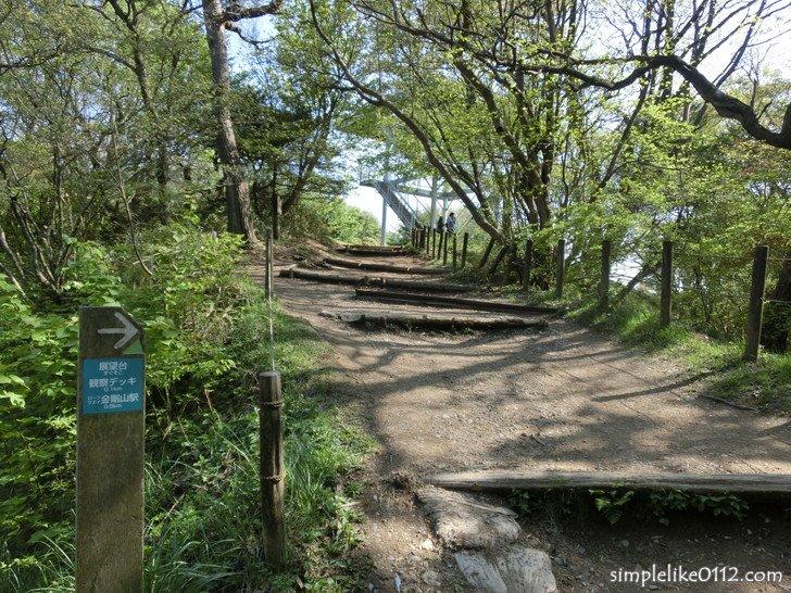 ちはや園地から金剛山山頂までの登山道(ダイヤモンドトレール)