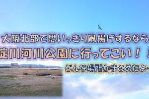 淀川河川公園枚方地区アイキャッチ画像