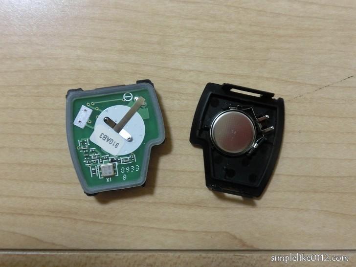 自動車キー電池交換