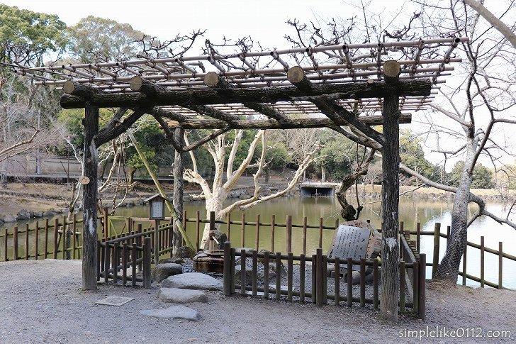 奈良公園の洞水門