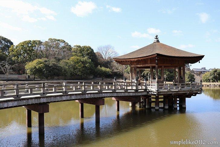 奈良公園の浮見堂