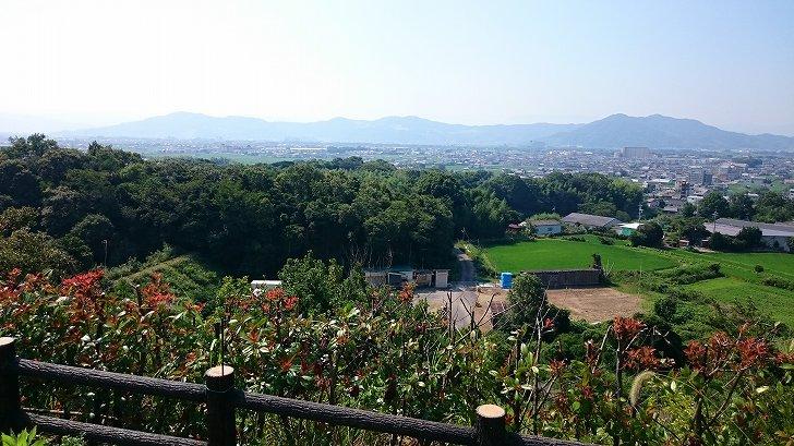 阪和自動車道紀ノ川SA展望台