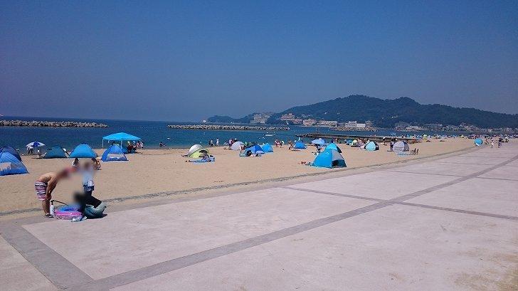 和歌山片男波海水浴場