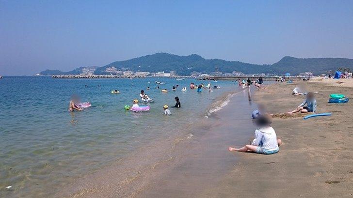 和歌山片男波海水浴場までの経路