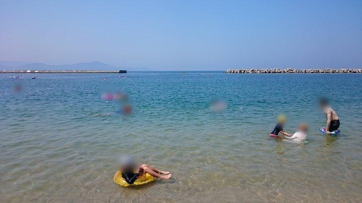 和歌山県片男波海水浴場の海