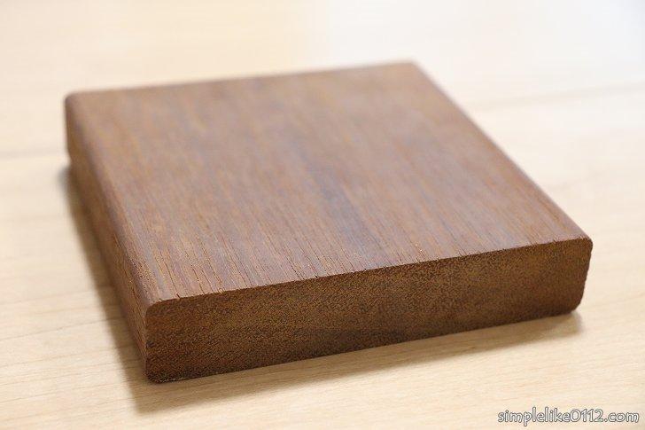 ウッドデッキ材料のウリン