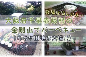 大阪府千早赤阪村の金剛山でバーベキュー【ちはや園地は穴場!?】