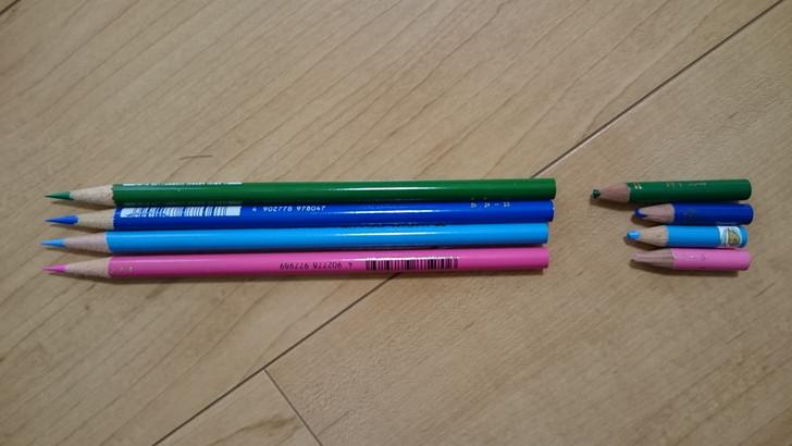 三菱色鉛筆単色をバラ売りで買う