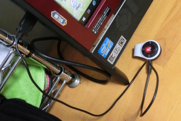 Bluetoothレシーバーを充電する