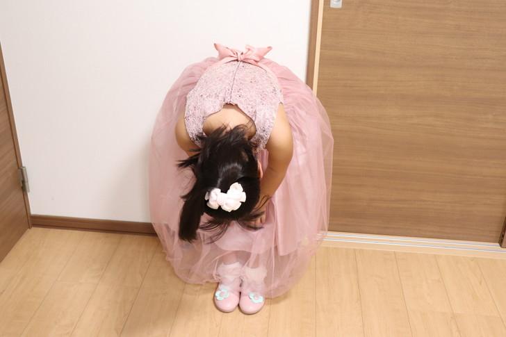 ピアノ発表会に子供用ドレスが間に合った