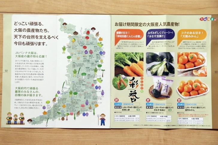 JAバンク大阪の「大阪満菜Ⅲ・大阪産農産物カタログギフト付定期預金」