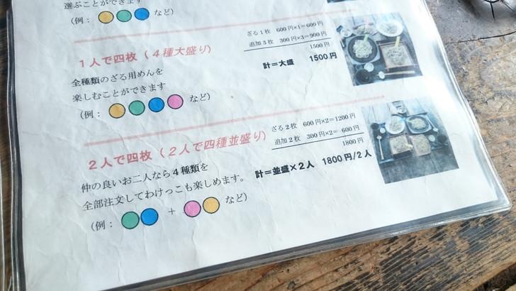 岐阜県飛騨高山「ざる蕎麦せと」