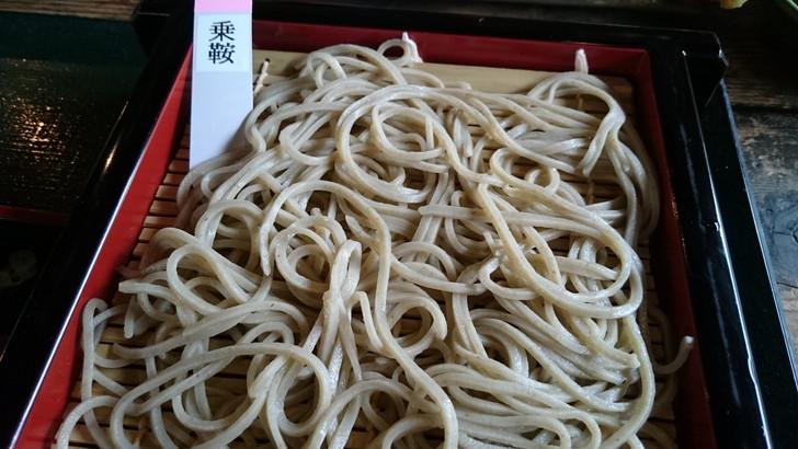 岐阜県飛騨高山「ざる蕎麦せと」乗鞍そば