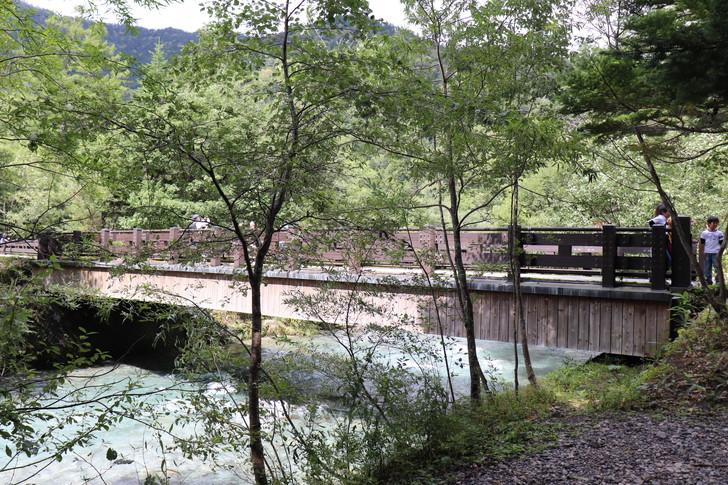 上高地の散策コース「梓川コース」