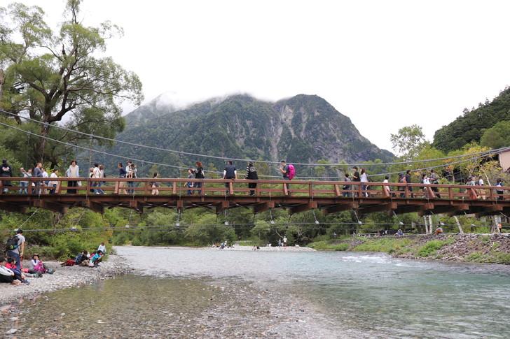 上高地の河童橋
