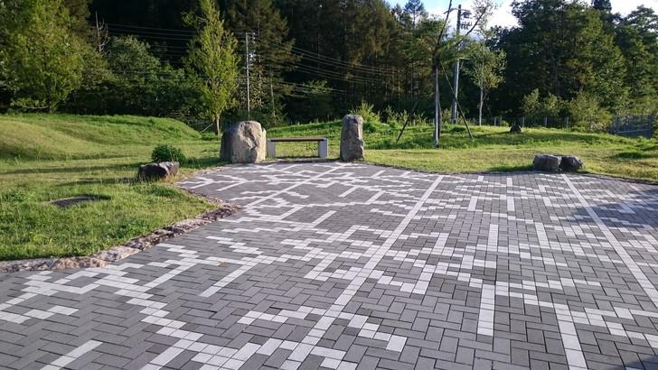 松ノ木峠パーキングエリアは静かな空間