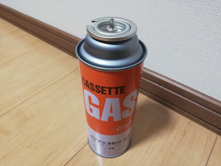 ガストーチバーナーに使用するCB缶(カセットボンベ)