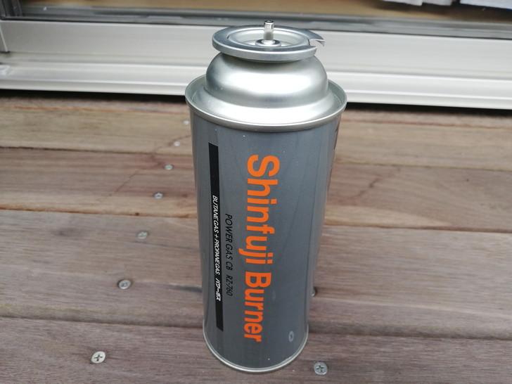 新富士製のCB缶(カセットボンベ)RZ-760