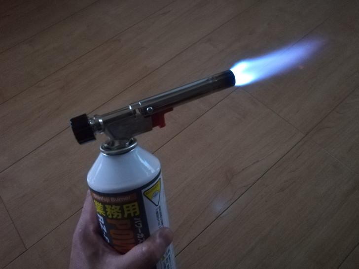 新富士パワートーチRZ-820Sの集中炎