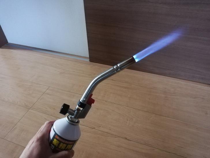 新富士パワートーチRZ-832の点火状態