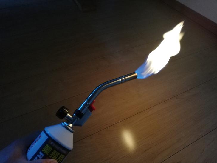 新富士パワートーチRZ-832のソフト炎