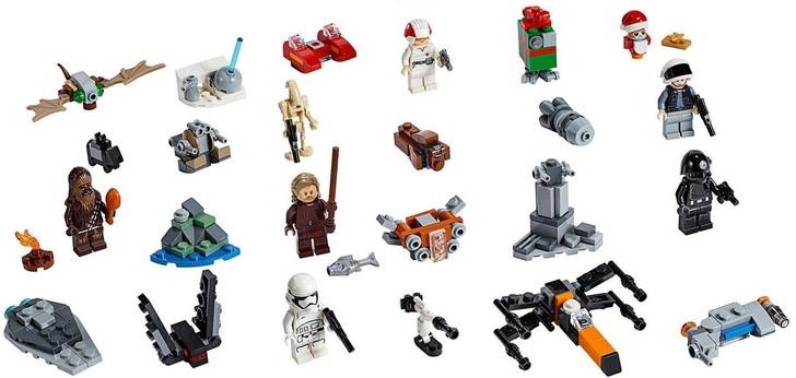 レゴ(LEGO)のアドベントカレンダーで毎日パーツを1つゲット!!