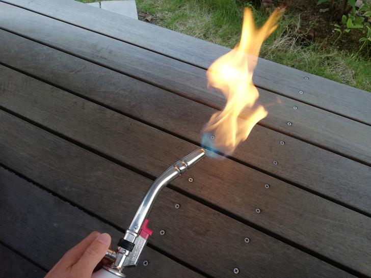 新富士パワートーチRZ-831のソフト炎