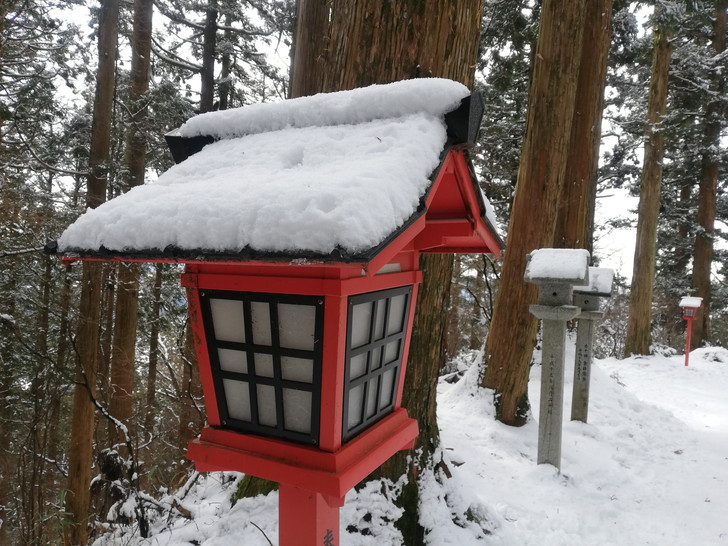 冬の金剛山【寺と神社と樹氷が美しい】