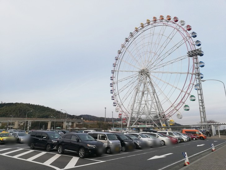 神戸淡路鳴門自動車道「淡路SA」の観覧車