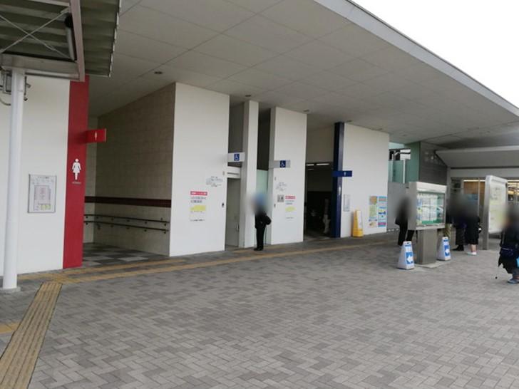 淡路SA(サービスエリア)<下り>施設情報「トイレ」