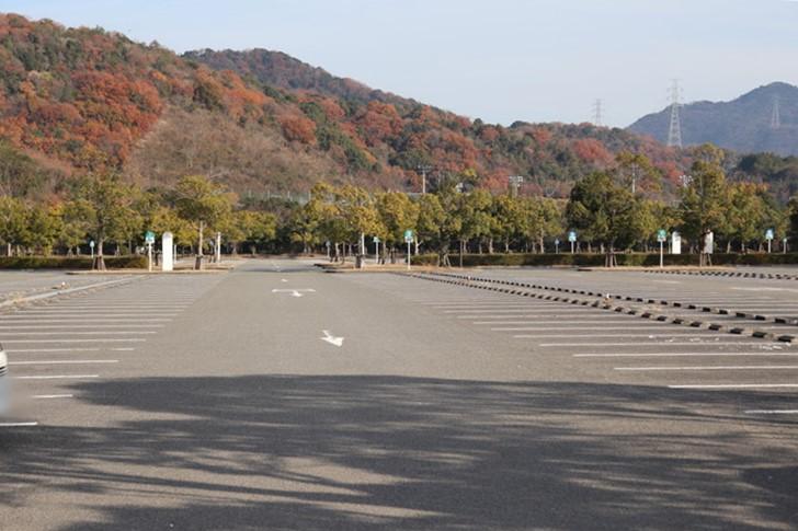 あすたむらんど徳島の駐車場