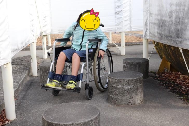 あすたむらんど徳島のバリアメイズ(車いす迷路)