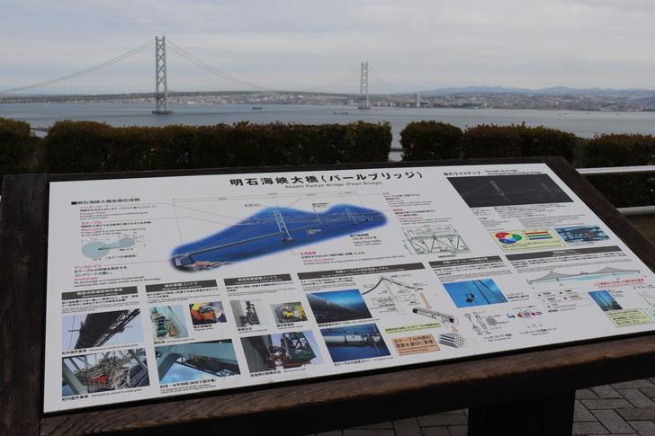 明石海峡大橋の解説掲示板