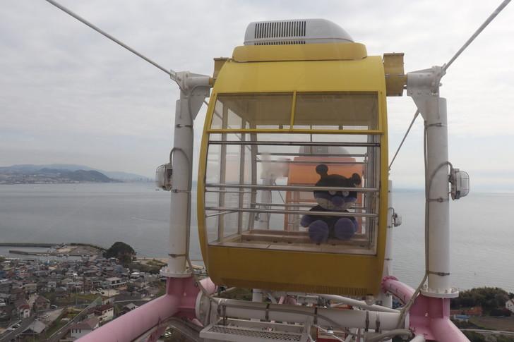 淡路SA(サービスエリア)の大観覧車の頂上