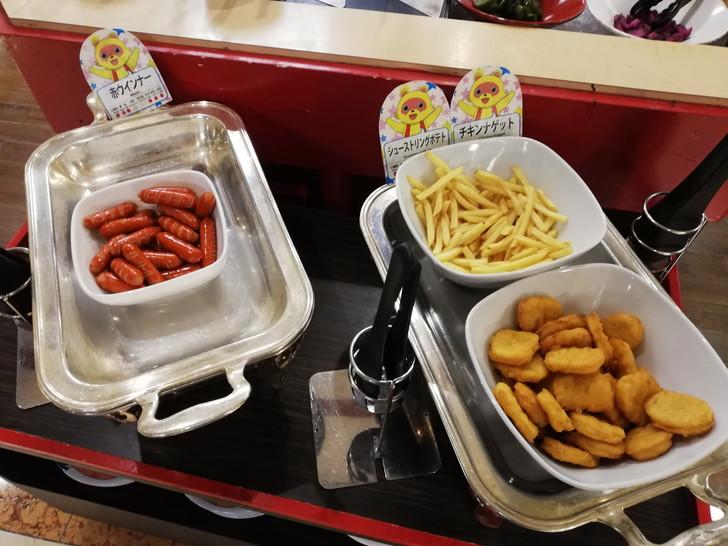 アオアヲナルトリゾート夕食バイキング「子供向け料理」