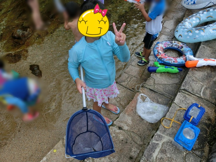 川遊びの思い出を記録するアイテム