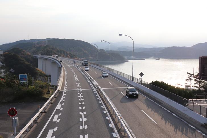 車で大阪から四国剣山への高速料金は?