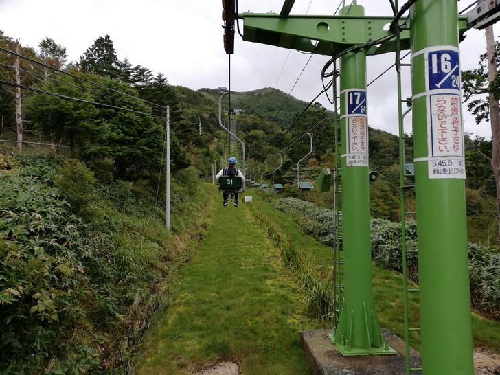 剣山登山リフトに乗ろう!!