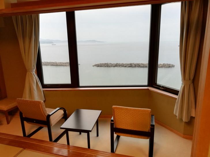 鳴門グランドホテル海月のオーシャンビュー海側客室