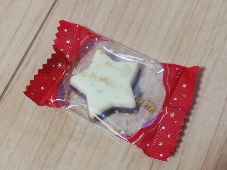 メリーチョコレートのホワイト&ミルクチョコレート