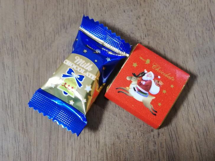メリーチョコレートのアドベントカレンダーついにクリスマス