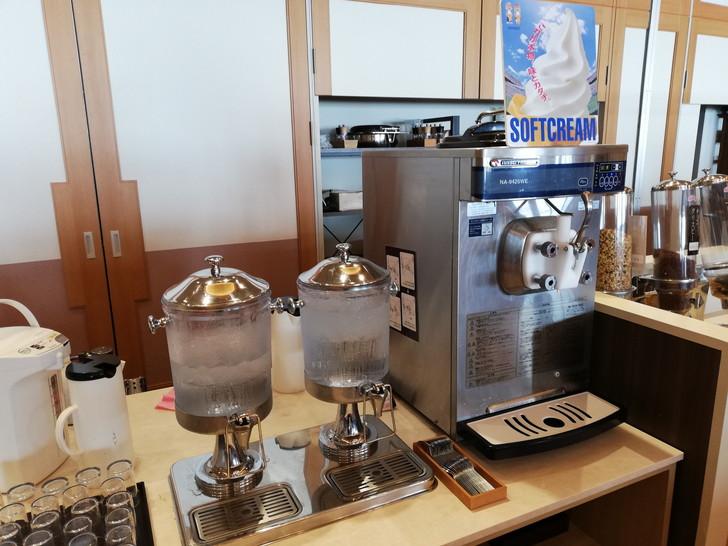 鳴門グランドホテル海月の朝食バイキング【ソフトクリーム】