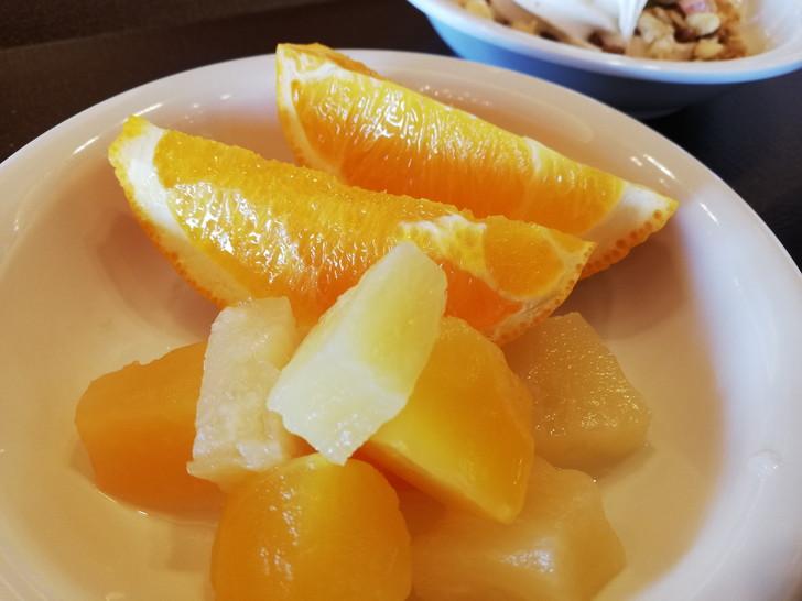 鳴門グランドホテル海月の朝食バイキング【果物】